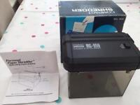 Mini portable shredder - Fully working - Boxed - battery/mains