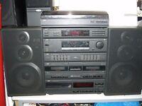 JVC stereo hi-fi system