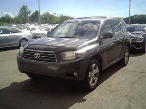 2010 Toyota Highlander V6 Sport**LTHR**AWD**6 PASS**3 YEARS WARR
