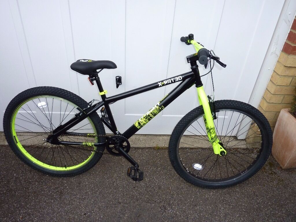 """X Rated Exile Dirt Jump Bike24"""" Brand Newin Sutton, LondonGumtree - Unwanted gift never used selling at bargain price for only £80.00 OVNO Please call 07505 678 679 Buyer collects any inspection welcome. Here are full details X Rated Exile Dirt Jump Bike 24"""" The X Rated Exile Dirt Jump Bike is fully jump capable..."""