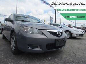 2007 Mazda MAZDA3 GS * LOANS FOR ALL CREDIT
