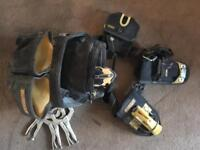Dewalt tool pouch and tools
