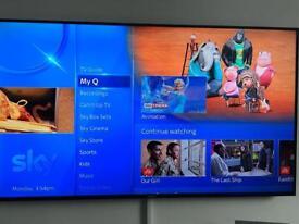 "49"" HD 3D smart tv"