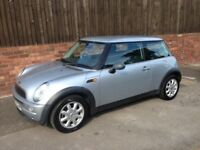 MINI ONE 1.6L, 2003 REG, MOT, LOW MILEAGE, HPi CLEAR, VERY TIDY THROUGHOUT WITH ALLOYS & AIR CON