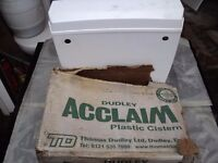 new dudley acclaims plastic cistern with duoflush syphon