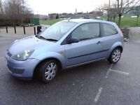 2006 NEW SHAPE FORD FIESTA CLIMATE! BARGAIN ONLY £850!