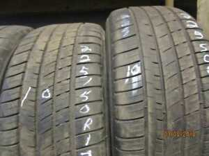 225/50R17 3 ONLY USED MICHELIN A/S TIRE