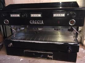 GAGGIA COFFEE MACHINE: BARISTA CAFE ESPRESSO