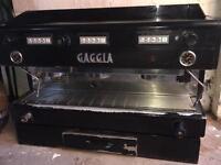 GAGGIA COFFEE MACHINE: BARISTA CAFE ESPRESSO