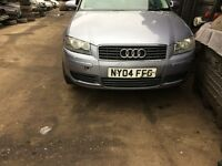 2004 Audi A3 Fsi 3dr Hatchback 2.0 Petrol Silver BREAKING FOR SPARES
