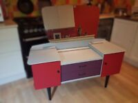 Up-cycled Ladies Dressing Table with Mirror