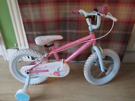 "GIRLS 14"" WHEEL, FAIRY'S BIKE, SHOP DISPLAY, GREAT CONDITION"