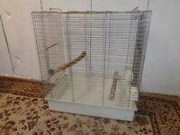 Chrome Bird Cage