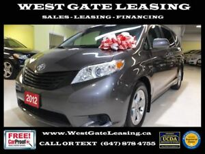2012 Toyota Sienna ONE OWNER   LOCAL ONTARIO CAR  