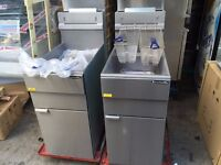 CATERING COMMERCIAL NEW GAS FRYER CAFE CHICKEN RESTAURANT BBQ KITCHEN KEBAB PIZZA HOTEL PUB BAR SHOP