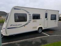 2009 Bailiey Pageant 6 berth caravan
