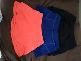 Athleta Tennis Skort/Skirt (Triple Pack)