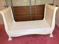 Cot Bed and bed side table