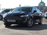FORD MONDEO 1.5 Ecoboost Titanium 5dr Auto [160 BHP, Sat Nav, Bluetooth] (black) 2015