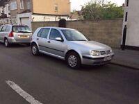 Lovely 2001 VW Golf 1.6, 4 Door, 94k Miles Only, 1 Yrs MOT, Drives Lovely