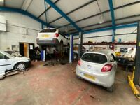 Car Garage/Tyre Shop Business For Sale - Busy Main Road - Body Workshop Unit - Used Car Sales
