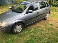 Vauxhall, CORSA, Hatchback, 2003, Manual, 1199 (cc), 5 doors