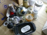 Kenwood food Processor , Philips Blender, Juicer and other items