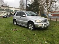 Mercedes ML270 cdi special edition