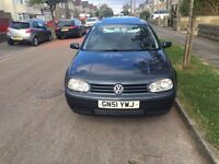 VW GOLF 12 MONTHS MOT