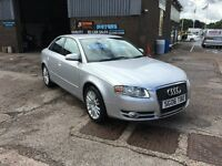 2006 AUDI A4 1.9 TDI SE SALOON,119000 MILES WITH FULL SERVICE HISTORY,TAKEN IN PART EXCHANGE,