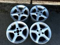 Mazda mx5 alloys with low profile tyres