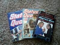 Status quo books ( 3 ) in total