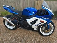GSXR 600 2012 Trackbike 1600 miles from new fully loaded!!