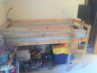 Short Length Mid Sleeper Cabin/Loft Bed