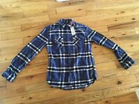 Superdry Check Shirt Mens (small) with Tags On
