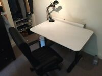 Ikea 120x80cm Bekant Desk