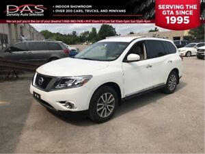2014 Nissan Pathfinder SL 4X4/LEATHER/REAR VIEW CAMERA/7 PASS