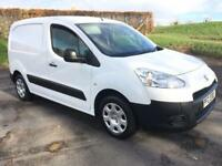 PEUGEOT PARTNER 1.6 HDI PROFESSIONAL L1 625 1d 74 BHP ONE COMPANY OWNER FROM NEW, FSH (white) 2013