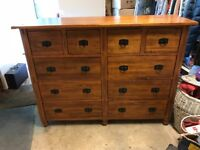 Solid Wood Chest of Drawers / Dresser