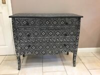 Highly decorated Marrakech bedroom furniture set