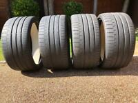 4 x Continental Sport Contact 6 275/30ZR20 97Y XL Conti Silent Tyres