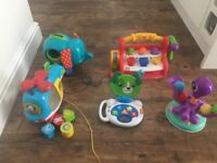 Toy bundle leapfrog vtech fisher price little tikes toddler baby toys