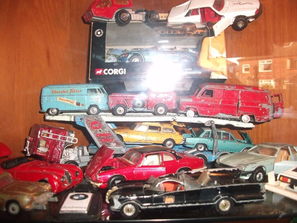 old toy cars dinky corgi and matchbox in oulton west. Black Bedroom Furniture Sets. Home Design Ideas