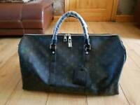 Louis Vuitton LV 45cm mens duffle bag - leather designer - gym travel hold all