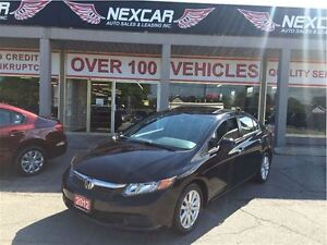2012 Honda Civic EX AUT0 A/C SUNROOF ONLY 91K
