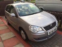 VOLKSWAGEN POLO 1.2i 5 DOOR IN SILVER, VERY CHEAP TO RUN, INSURE & TAX & IDEAL FOR YOUNG DRIVER