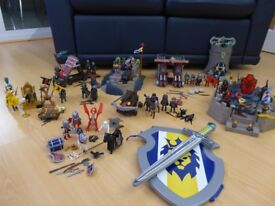 MASSIVE COLLECTION OF PLAYMOBIL KNIGHTS SETS