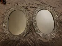 Pair of matching mirrors