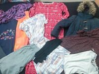 Ladies Bundle of Clothes Size 16 - Jacket, Vintage Dresses, Tops, Summer Trousers etc