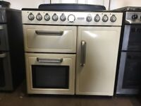 Leisure range electric cooker CMTE95C 90cm cream double oven 3 months warranty free local delivery!!